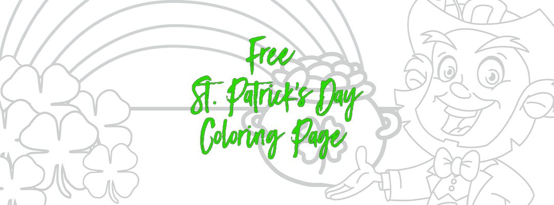 Free St. Patrick's Day Coloring Page!